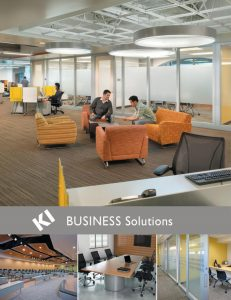 Michigan Business Furniture Solutions Catalog Cover