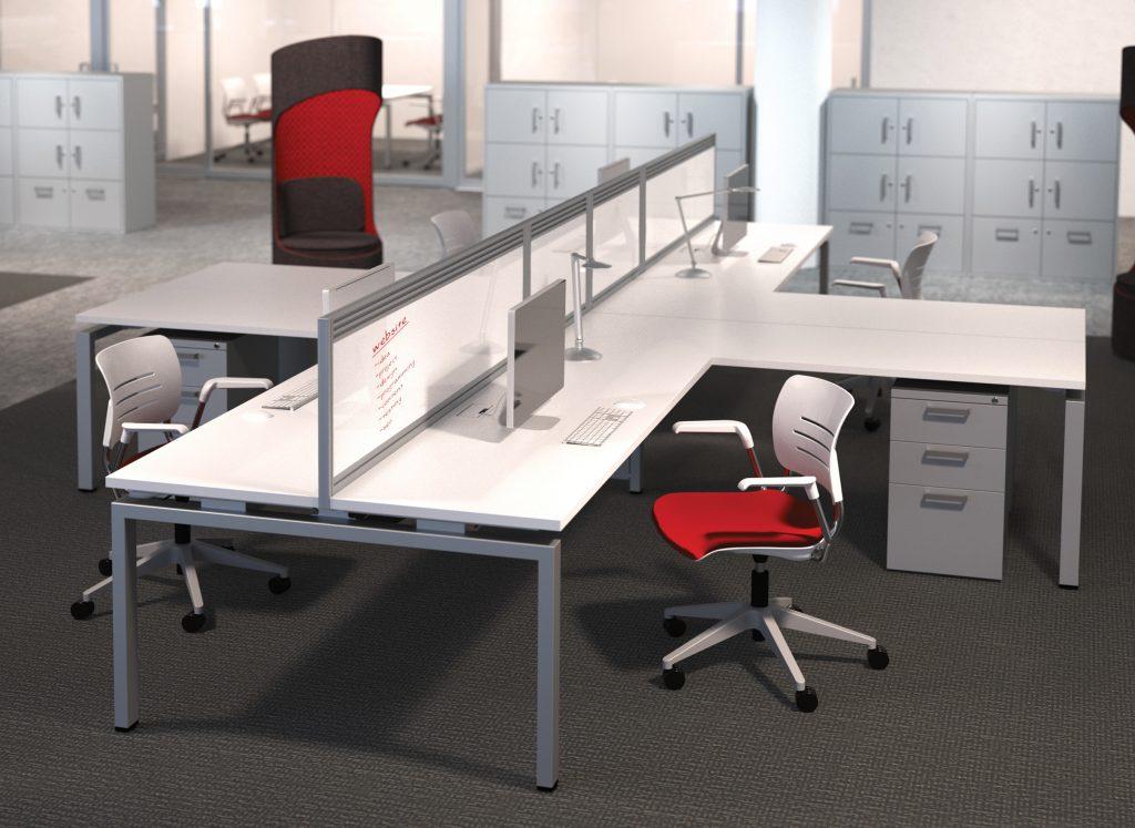 Michigan Benching Business Furniture