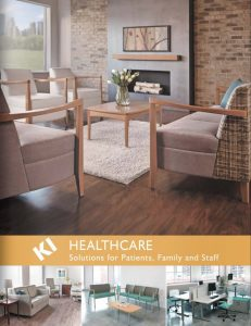 MI Healthcare Furniture Solutions Catalog Cover - Omni Tech Spaces